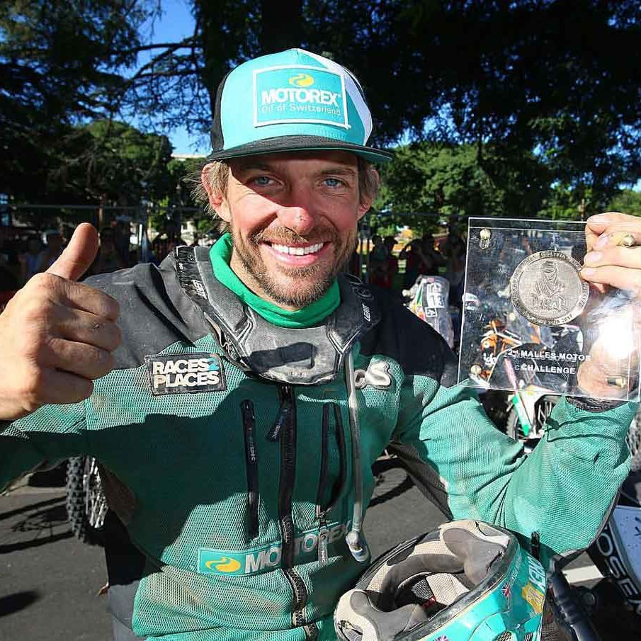 Dakar Rally Malles Moto Win